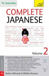 Image of Complete japanese volume 2