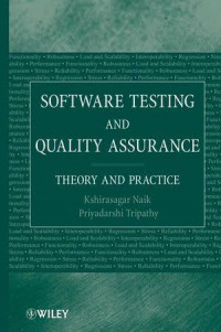 Image of Software testing and quality assurance: theory and practice